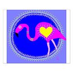 flamingo Small Poster