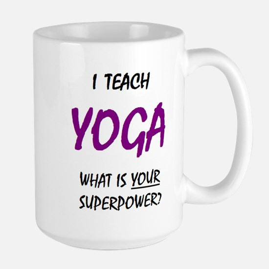 Teach Yoga Mugs