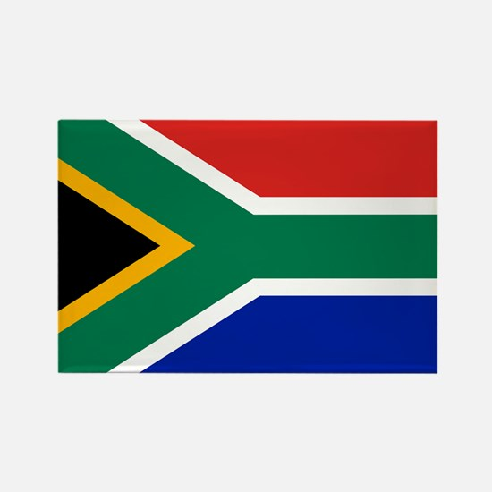 Unique South africa flag Rectangle Magnet