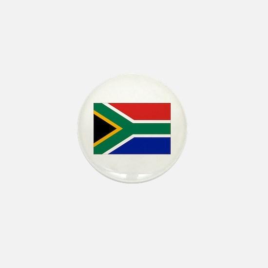 Cute South africa flag Mini Button