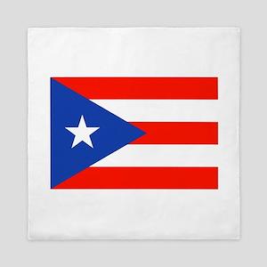 Puerto Rican Boricua Flag Bandera Orgullo Queen Du