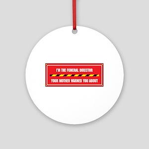 I'm the Director Ornament (Round)