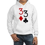 Pocket Threes Hooded Sweatshirt