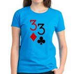 Pocket Threes Women's Dark T-Shirt
