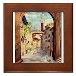 Siena Light Framed Tile
