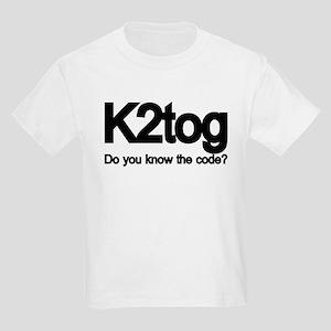 K2tog Knit Together Kids Light T-Shirt