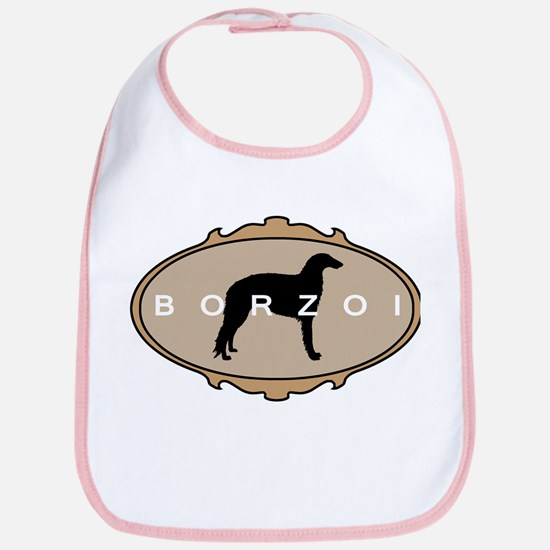 Borzoi Dog Breed Bib