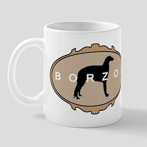 Borzoi Dog Breed Mug