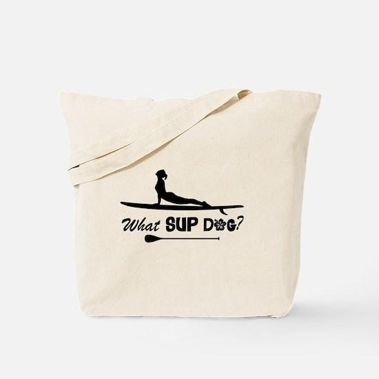 What SUP Dog-b Tote Bag