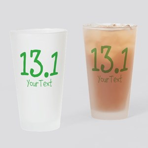 Customize GREEN 13.1 Drinking Glass
