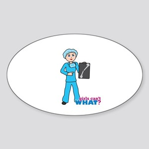 x-Ray Tech Light Sticker (Oval)