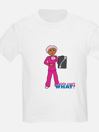 X-Ray Tech Dark Pink Scrubs T-Shirt