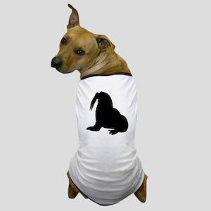 Walrus Silhouette Dog T-Shirt