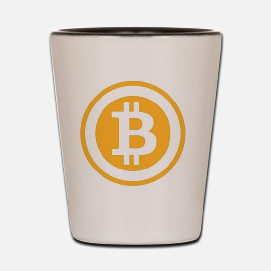Bitcoin Shot Glass