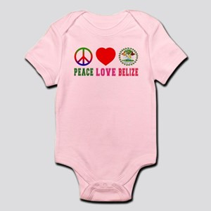Peace Love Belize Infant Bodysuit