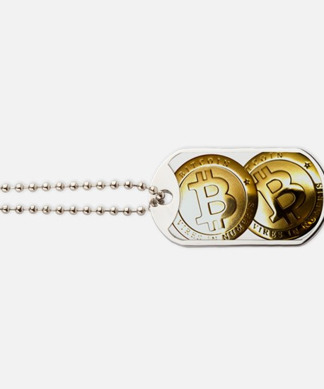 Bitcoin Dog Tag Dog Tags