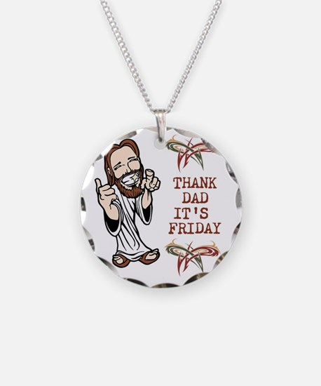 Thank God Its Friday Necklace