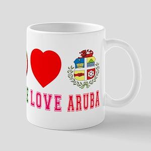 Peace Love Aruba Mug