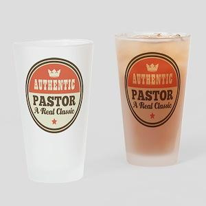 Pastor Vintage Drinking Glass