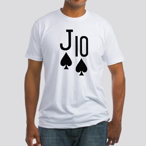 Jack Ten Poker Fitted T-Shirt
