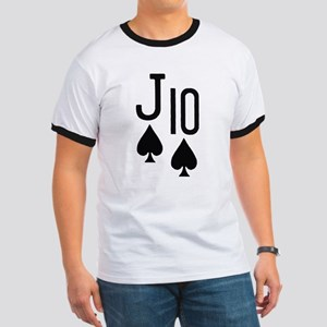 Jack Ten Poker Ringer T