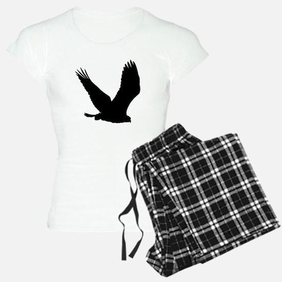 Hawk Silhouette Pajamas