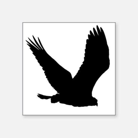 Hawk Silhouette Sticker