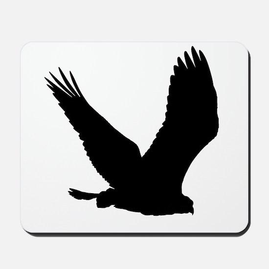 Hawk Silhouette Mousepad