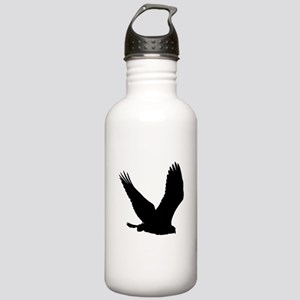 Hawk Silhouette Water Bottle