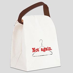 NotAgain Canvas Lunch Bag