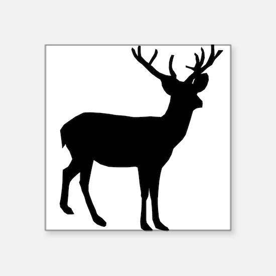 Buck Silhouette Sticker