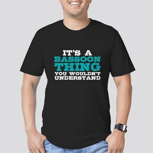Bassoon Thing Men's Fitted T-Shirt (dark)