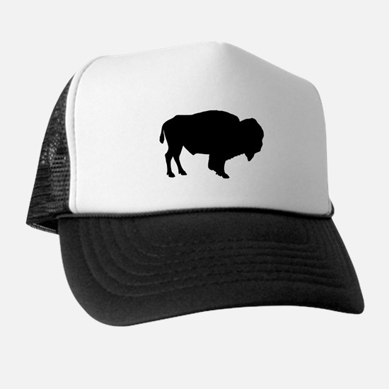 Buffalo Silhouette Trucker Hat