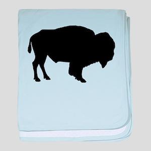 Buffalo Silhouette baby blanket