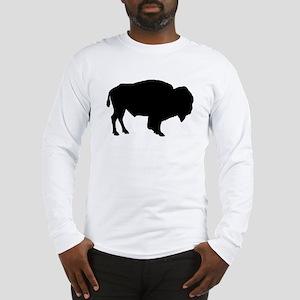 Buffalo Silhouette Long Sleeve T-Shirt