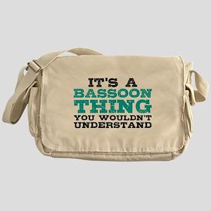 Bassoon Thing Messenger Bag