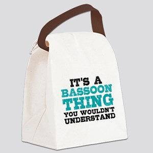 Bassoon Thing Canvas Lunch Bag