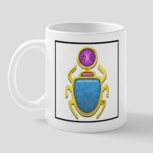 Amethyst Scarab Mug