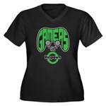 Gamers Dont Die. Plus Size T-Shirt