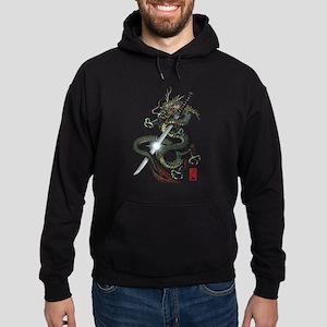 Dragon Katana Hoodie (dark)