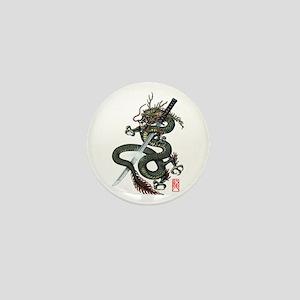 Dragon Katana Mini Button