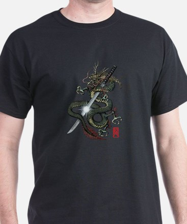 Dragon Katana T-Shirt