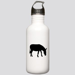 Donkey Silhouette Water Bottle