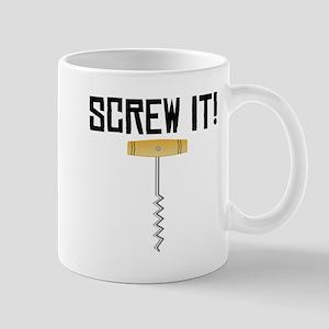 Screw It! Wine Corkscrew Mugs