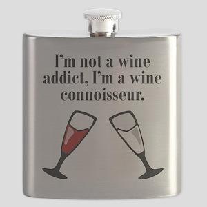 Im A Wine Connoisseur Flask