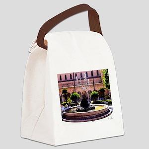 Fontana dItalia Canvas Lunch Bag