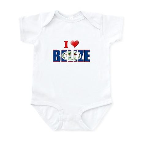 I love Belize Infant Bodysuit