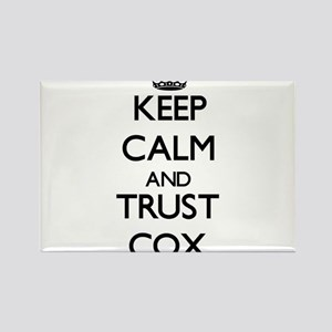 Keep calm and Trust Cox Magnets