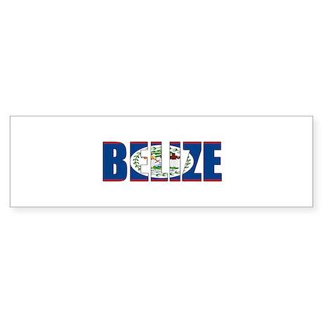 Belize Bumper Sticker