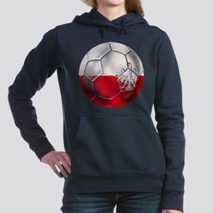 Poland Football Women's Hooded Sweatshirt